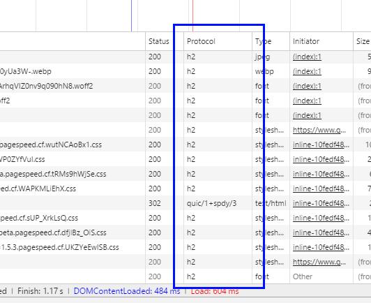[ Protocol 항목에서 여러분들의 웹 어플리케이션이 어떤 통신 규약에서 작동하는지 확인할 수 있습니다. ]